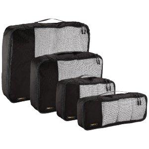 Amazon Basics 4-Piece Packing Cube Set