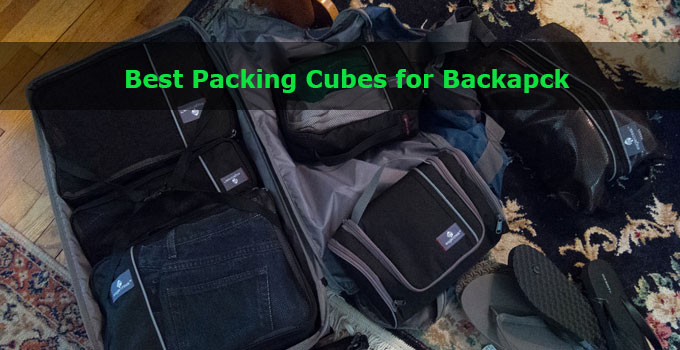 best packing cubes for backpack