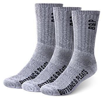 Buttons & Pleats Premium Merino Wool Hiking Socks