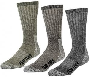 FUN TOES 3 pairs thermal insulated - Men's