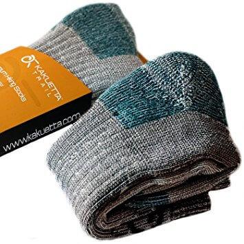 Hiking Socks 100% Merino Wool 1 Pair