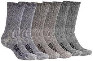 Men's Merino Wool Socks 6 PAIRS Value