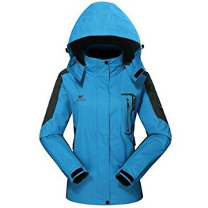 Outdoor Hooded Softshell Camping Hiking Jacket