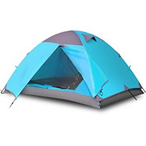 Single Person Double Layer Camping Tent