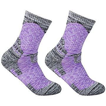 Women's 2 Pack Antiskid Wicking Cotton Socks