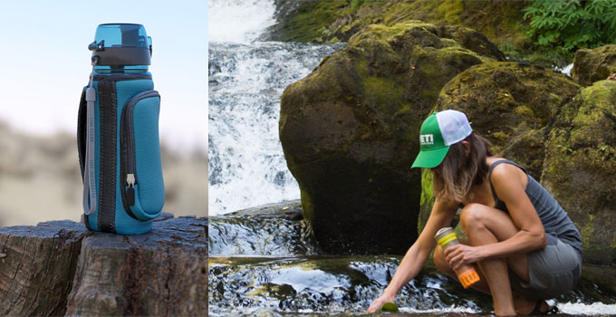 Best Filtered Water Bottles for Hiking