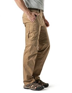 CQR Men's Convertible Pants Zip Off Quick Dry Cargo Trousers review
