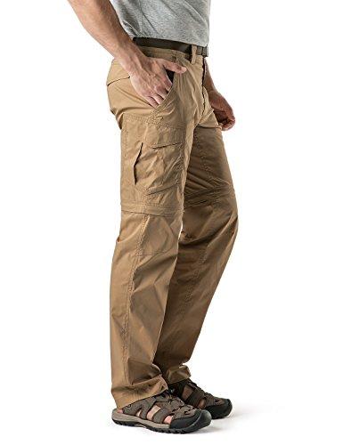 CQR Men's Convertible Pants Zip Off Quick Dry Cargo Trousers review