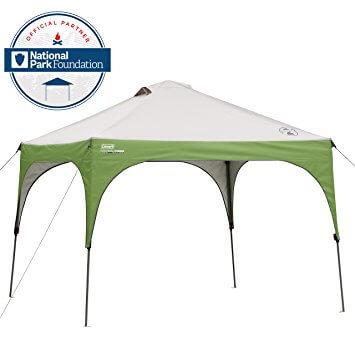 Coleman 10X10 Instant Sun Shelter