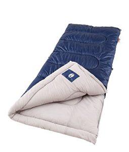 Coleman Brazos Cool Weather Sleeping Bag (Best Backpacking Sleeping Bags Under $100)