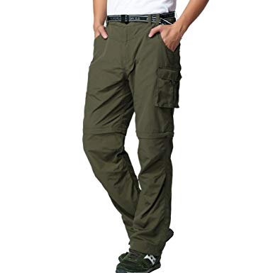 FLYGAGA Men's Outdoor Quick Dry Convertible Pant review