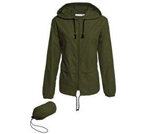 Hount Women's Lightweight Hooded Raincoat Waterproof Packable Active Outdoor Rain Jacket review