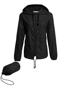 Lomon Lightweight Waterproof Packable Outdoor Hooded Rain Jacket For Women review