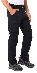 Mier Men's Convertible Comfort Stretch Pant