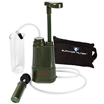 Survivor Filter PRO 0.01 Micron Water Purifier Pump