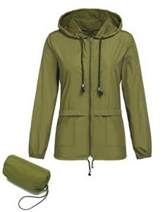 ZHENWEI Women Lightweight Jackets Waterproof Windbreaker Packable Outdoor Hooded Active Hiking Rain Jacket review
