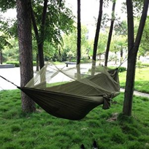 Camping Hammock with Mosquito Net Double Persons