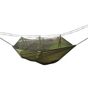 Double Camping Hammock With Mosquito Net