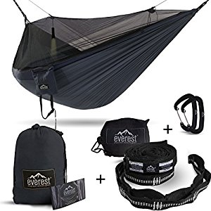 Double Hammock-Bug & Mosquito Free Camping