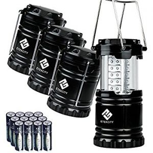 Etekcity 4 Pack Portable Outdoor LED Camping Lantern