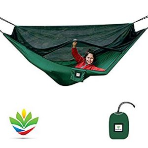 The Ultimate Bag Free Camping Hammock