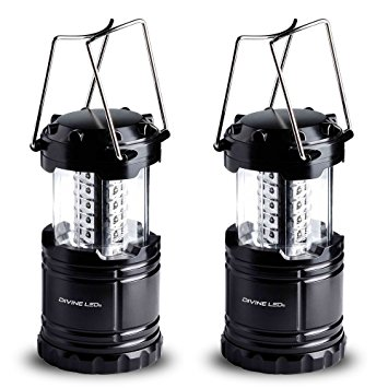 Vont Bright 2 Pack Portable Outdoor LED Camping Lantern