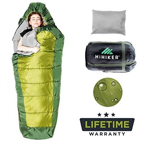 HiHiker Mummy Bag review