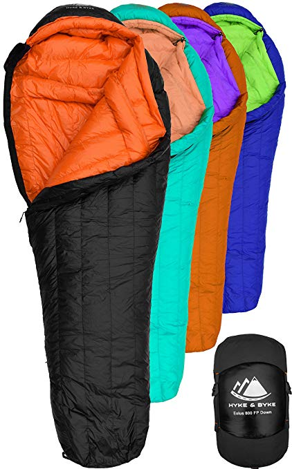 Hyke & Byke Eolus Goose Down Sleeping Bag review
