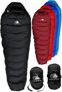 Hyke & Byke Snowmass 0 Degree F 650 Fill Power Hydrophobic Down Sleeping Bag review