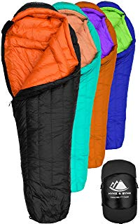 Hyke & Byke Snowmass Down Sleeping Bag review
