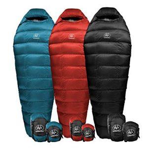 Outdoor Vitals Summit Down Sleeping Bag review (Best Backpacking Sleeping Bags under $200)