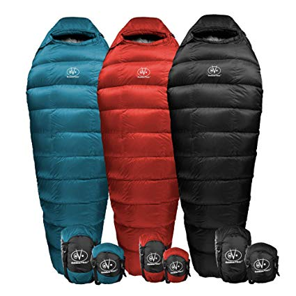 Outdoor Vitals Summit Down Sleeping Bag review