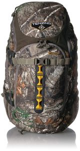 Tenzing 2220 Daypack With A Bow And Firearm Carry Boot review