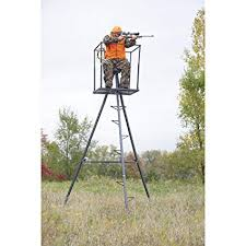 Guide Gear 13' Deluxe Tripod Deer Stand review
