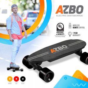 AZBO Portable Mini Electric Skateboard
