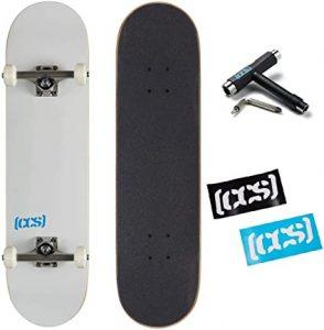 CCS Logo Complete Skateboard (Best Skateboard For 4 Year Old)