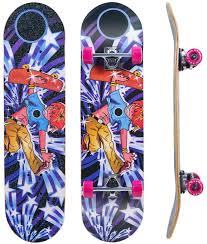 Complete Standard Skateboard- IMITOR (Skateboard For 6 Years Old )