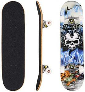 Hikole-Skateboard-Complete-PRO-Skateboard