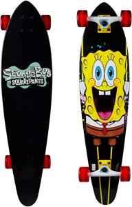 """Kryptonics Spongebob 36"""" Longboard Skateboard"""