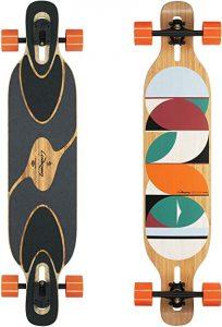 Loaded Boards Dervish Sama Bamboo Longboard Skateboard