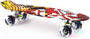 """Merkapa 22"""" LED Skateboard (best skateboard for 5 years old)"""