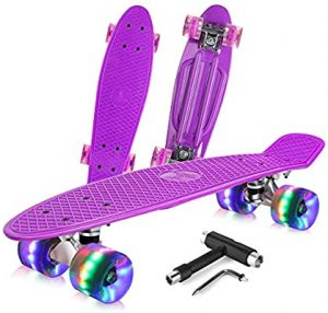 Mini Cruiser Retro Skateboard- BELEEV