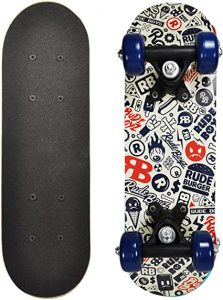 Mini Wooden Cruiser Graphic - Rude Boyz