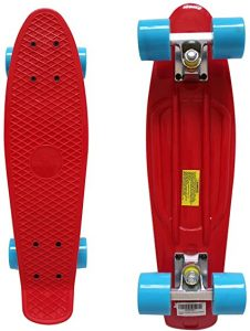Plastic Cruiser Skateboard - Rimable