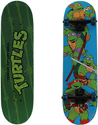 "PlayWheels Teenage Mutant Ninja Turtles 28"" Skateboard, Turtle Time"