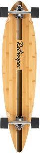 Retrospec Zed Bamboo Longboard Skateboard