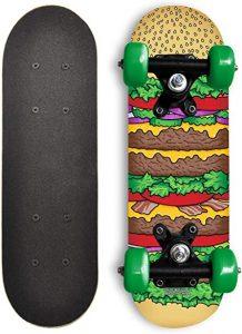 Rude Boyz Beginners Skateboard (Best Skateboard For 4 Year Old)