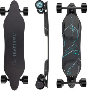 SKATE BOLT Electric Skateboard Breeze II Electric Longboard with Remote Control