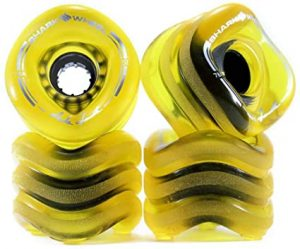 Shark Wheel 70 mm 78a Longboard Wheels | Sidewinder | 4-Pack