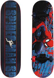 Ultimate Spiderman Trick Skateboard - Play Wheels